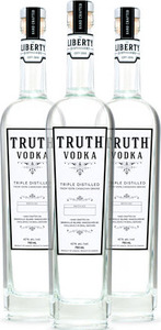 The Liberty Distillery Truth Vodka Bottle