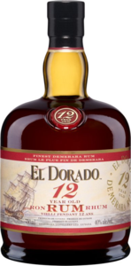 El Dorado 12 Year Old Rum, Guyana Bottle