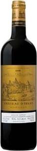 Château D'issan 2000, Ac Margaux Bottle