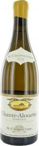 M. Chapoutier Chante Alouette Hermitage Blanc 2010 Bottle