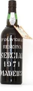 Pereira D'oliveira Vintage Reserva Sercial 1971, Doc Madeira Bottle