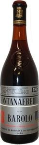 Fontanafredda Barolo 1967 Bottle