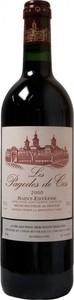 Les Pagodes Des Cos 2000, Ac St Estèphe, 2nd Wine Of Château Cos D'estournel Bottle