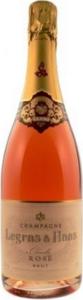 Legras & Haas Brut Rosé Champagne Bottle