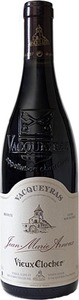 Jean Marie Arnoux Vieux Clocher Vacqueyras 2011, Ac Bottle