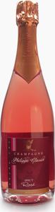 Philippe Glavier Cuvée Grand Cru Brut Rosé Champagne Bottle