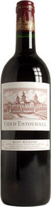 Chateau Cos D'estournel 2002, St Estèphe Bottle