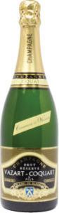 Vazart Coquart Réserve Grand Cru Blanc De Blancs Brut Champagne Bottle