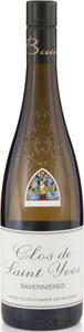 Domaine Des Baumard Clos De Saint Yves Savennières 2010 Bottle