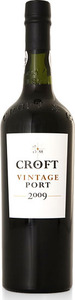 Croft Vintage Port 2009 Bottle