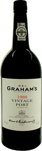 Graham's Vintage Port 1980 Bottle