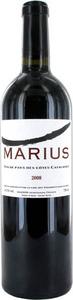 Marius 2005, Vin De Pays Des Côtes Catalanes Bottle