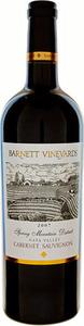 Barnett Cabernet Sauvignon 2007, Spring Mountain District, Napa Valley Bottle