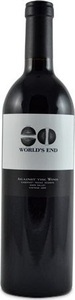 World's End Against The Wind Cabernet Franc 2009, Napa Valley Bottle