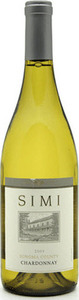 Simi Chardonnay 2012, Sonoma County Bottle