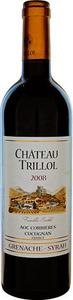 Château Trillol Grenache Syrah 2008, Corbieres  Bottle