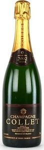 Champagne Collet Millésime Brut Champagne 2002 Bottle