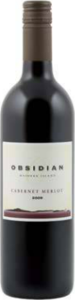 Obsidian Cabernet/Merlot 2009, Waiheke Island Bottle