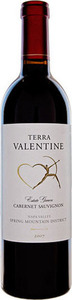 Terra Valentine Spring Mountain District Estate Grown Cabernet Sauvignon 2010, Napa Valley Bottle