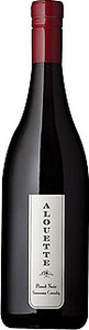Alouette Pinot Noir 2012, Sonoma County Bottle