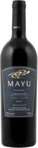 Mayu Reserva Carmenère 2011, Elquí Valley Bottle