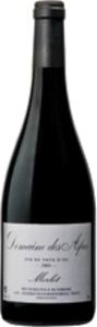 Domaine Des Aspes Merlot 2009, Vins De Pays D'oc Bottle