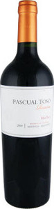 Pascual Toso Reserve Malbec 2010, Barrancas Vineyards, Mendoza Bottle