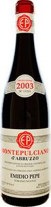 Emidio Pepe Montepulciano D'abruzzo 2001 Bottle