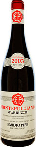 Emidio Pepe Montepulciano D'abruzzo 2000 Bottle