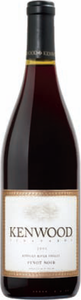 Kenwood Vineyards Pinot Noir 2011, Russian River Valley, Sonoma County Bottle