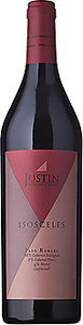 Justin Vineyards Isosceles 2007, Paso Robles Bottle