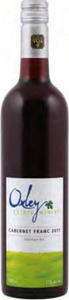 Oxley Cabernet Franc 2011, VQA Ontario Bottle