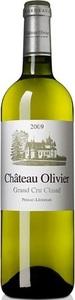 Château Olivier Blanc 2009, Ac Pessac Léognan Bottle