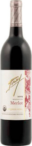 Frey Merlot 2012, North Coast Bottle