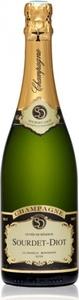 Sourdet Diot Cuvée De Réserve Brut Champagne Bottle