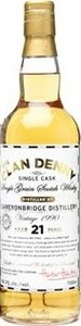 Clan Denny 21 Years Old Cameronbridge Single Grain 1990, Single Cask (700ml) Bottle