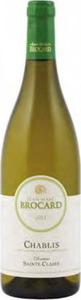 Jean Marc Brocard Domaine Sainte Claire Chablis 2011 Bottle