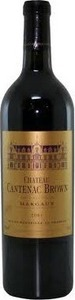 Château Cantenac Brown 2010, Ac Margaux Bottle