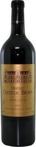 Château Cantenac Brown 2011, Ac Margaux Bottle