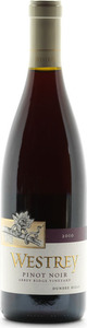 Westrey Wine Company Abbey Ridge Pinot Noir 2011, Willamette Valley Bottle