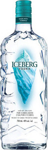 Iceberg Vodka Bottle