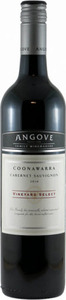 Angove Vineyard Select Cabernet Sauvignon 2010, Coonawarra Bottle