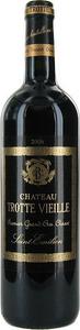 Château Trotte Vieille 2007, Ac St Emilion Premier Grand Cru Classé Bottle