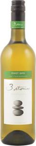3 Stones Premium Selection Pinot Gris 2012, Marlborough, South Island Bottle