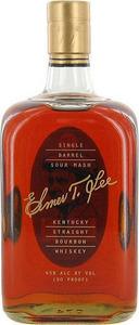 Elmer T. Lee Single Barrel Bourbon Bottle
