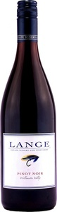 Lange Pinot Noir 2011, Willamette Valley Bottle