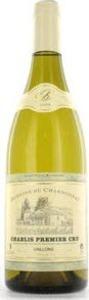Domaine Du Chardonnay Chablis Vaillons Premier Cru 2010 Bottle