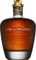 Kirk And Sweeney 12 Year Old Dominican Rum, Santiago De Los Caballeros Bottle