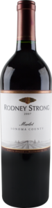 Rodney Strong Merlot 2007, Sonoma County Bottle