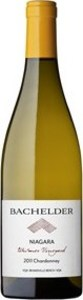 Bachelder Wismer Vineyard Chardonnay 2011, VQA Twenty Mile Bench, Niagara Peninsula Bottle